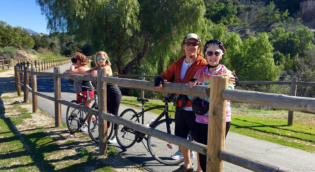Ojai Valley Bike Path - Biking Tour