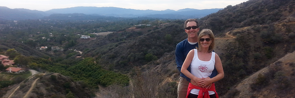 Guided hikes in Ojai California with Ian and Stacy Potter