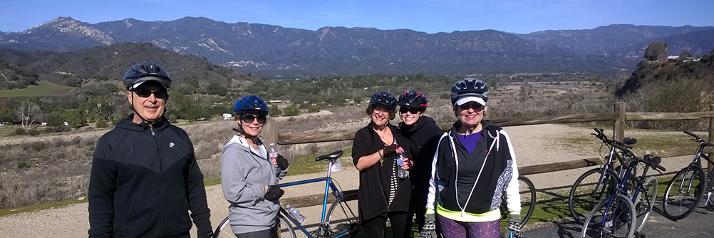 Bike Tour on the Ojai Valley Trail