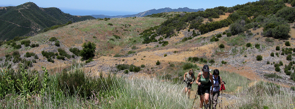 Hiking in Ojai - Photo courtesy of Rich Miskie