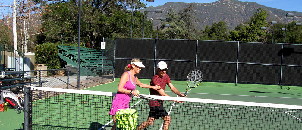 4 - Tennis with Stacy Potter