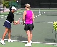 Tennis Instruction with Stacy Potter in Ojai CA